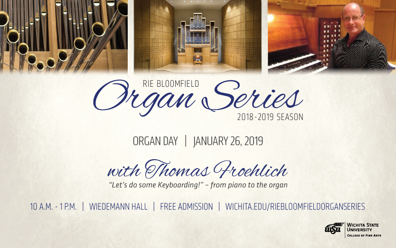 Wichita State Organ Day